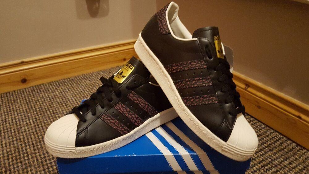 Adidas The Originals Superstar 80 S Baskets UK 8.5-