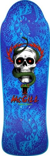 Powell Peralta BONES BRIGADE Mike McGill SKULL AND SNAKE Skateboard BABY BLUE