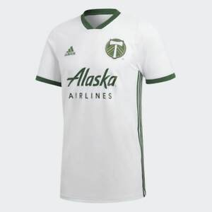 Adidas MLS Portland Timbers Away Jersey White,Green CW5471 | eBay