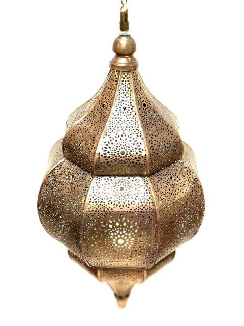 Moroccan Lamp Style Pendant Metal Ceiling Light Hanging Lantern Zenda Imp