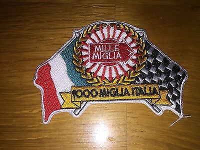 1000 MILLE MIGLIA ARROW RALLY FERRARI LOTUS FIAT ITALY RACING PATCH