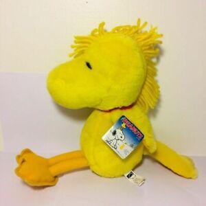 "Kohl/'s Cares Plush Peanuts Woodstock 13/"" Snoopy Yellow Bird Stuffed Animal"