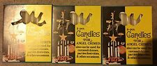 24 Vintage White Candles for Swedish Angel Chimes Christmas Tree