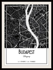 MOSCOW CITY MAP POSTER PRINT MODERN CONTEMPORARY CITIES TRAVEL IKEA FRAMES