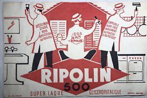 Antique Blotting Paper Ripolin 500 N49