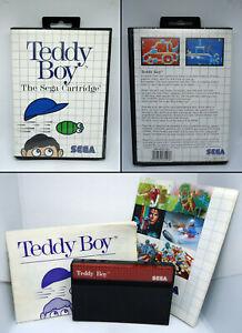 Teddy-Boy-The-Sega-Cartridge-incl-manual-SEGA-Master-System-MS-PAL-1988