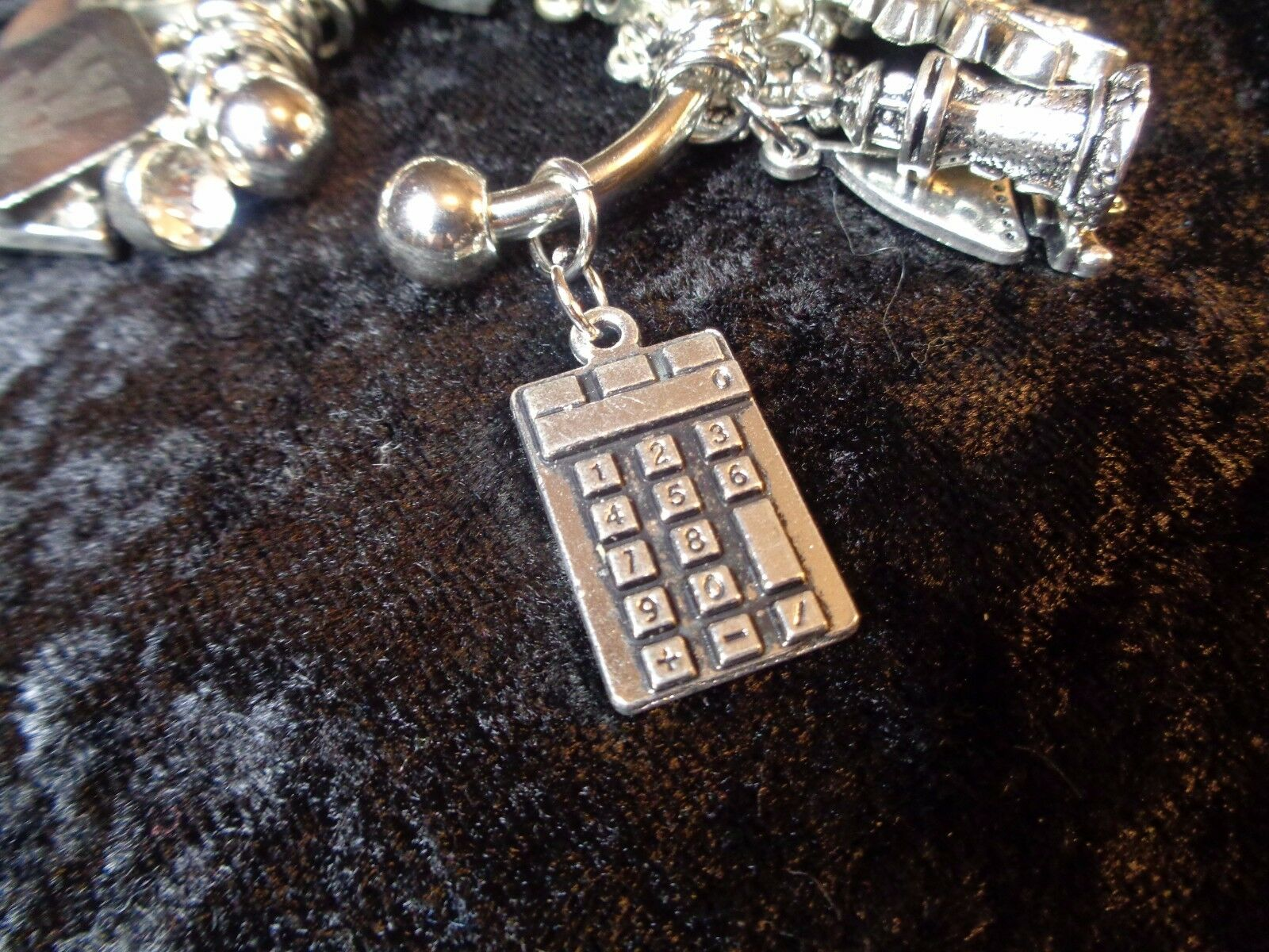 TRACKING what you eat? Calculator Weight Loss Charm  for Weight Watchers Ring s l1600