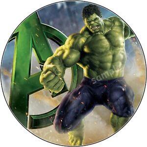 Hulk-Avengers-essbar-Tortendeko-Tortenaufleger-Party-Deko-Muffin-Tortenbild-neu