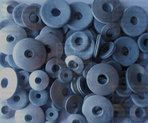 EDPM Bonded Sealing Washers 5mm,6mm,8mm x100 Mixed Pack of Stainless Steel