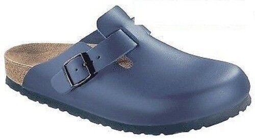 BIRKENSTOCK Boston Leder Clogs Farben weiss, blau oder schwarz  in 2 WEITEN
