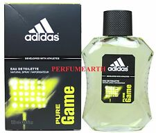 item 5 Pure Game By Adidas 3.3 3.4oz. 100ml Edt Spray For Men New In Box -Pure  Game By Adidas 3.3 3.4oz. 100ml Edt Spray For Men New In Box c358edda50