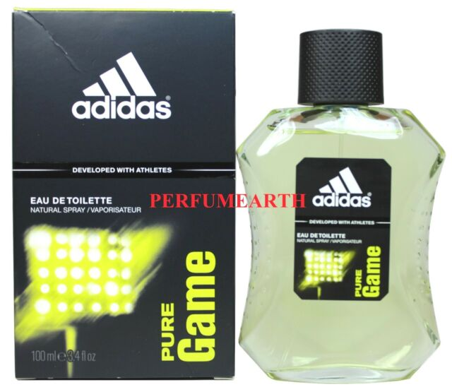 buy popular 74ea9 8a463 adidas Pure Game 3.4oz Men s Eau de Toilette