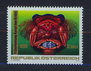 AUSTRIA-1976-MNH-SC-1043-Fight-Against-Cancer