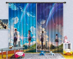 3D Vintage Posters Blockout Photo Curtain Printing Curtains Drapes Fabric Window