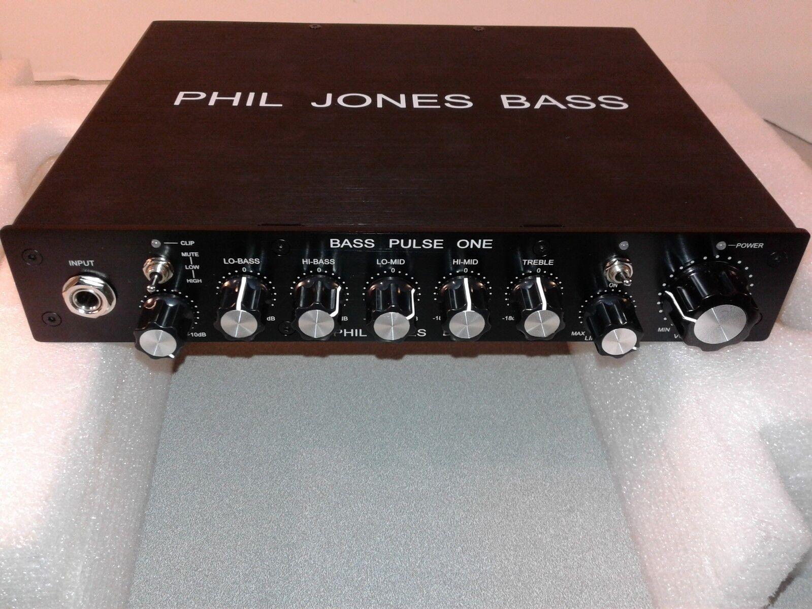 Perfect Cond. Phil Jones Bass BP-400 Digital Bass Amp