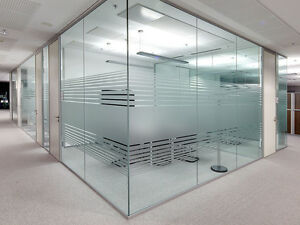 office partition with door