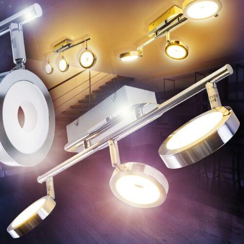 Deckenlampe Design LED Flur Deckenspot Wohnzimmer Leuchten Küchen Strahler Chrom
