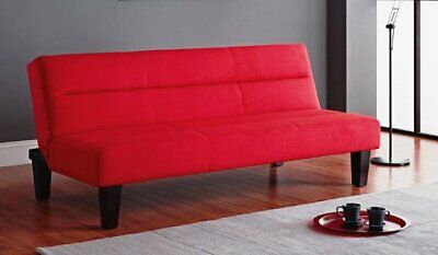 KEBO FUTON COUCH SOFA BED LOUNGE CHAIR LOUNGER FOLD OUT BIG CONVERTIBLE RED  NEW   eBay