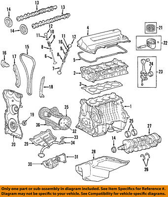 FORD OEM-Valve Cover Gasket 7T4Z6584B SOLD INDIVIDUALLY