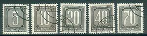 DDR-Dienstmarken-B-1-5-ND-gestempelt