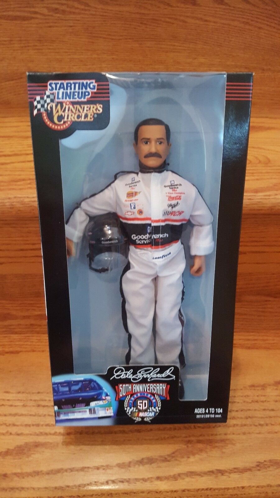 Dale Earnhardt  3 Winners Circle Estrellating Lineup GM Goodwrench Figura De Acción