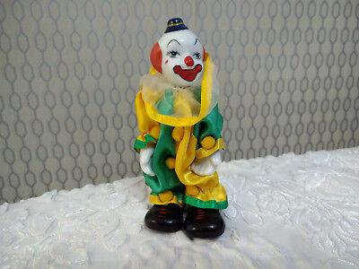 Porcelain Clown Collectors Figurine Decorative Ornament Doll | eBay