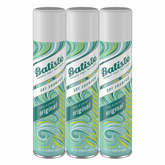 Batiste / 6.7oz Dry Shampoo Original Fragrance 3 Count 'FREE