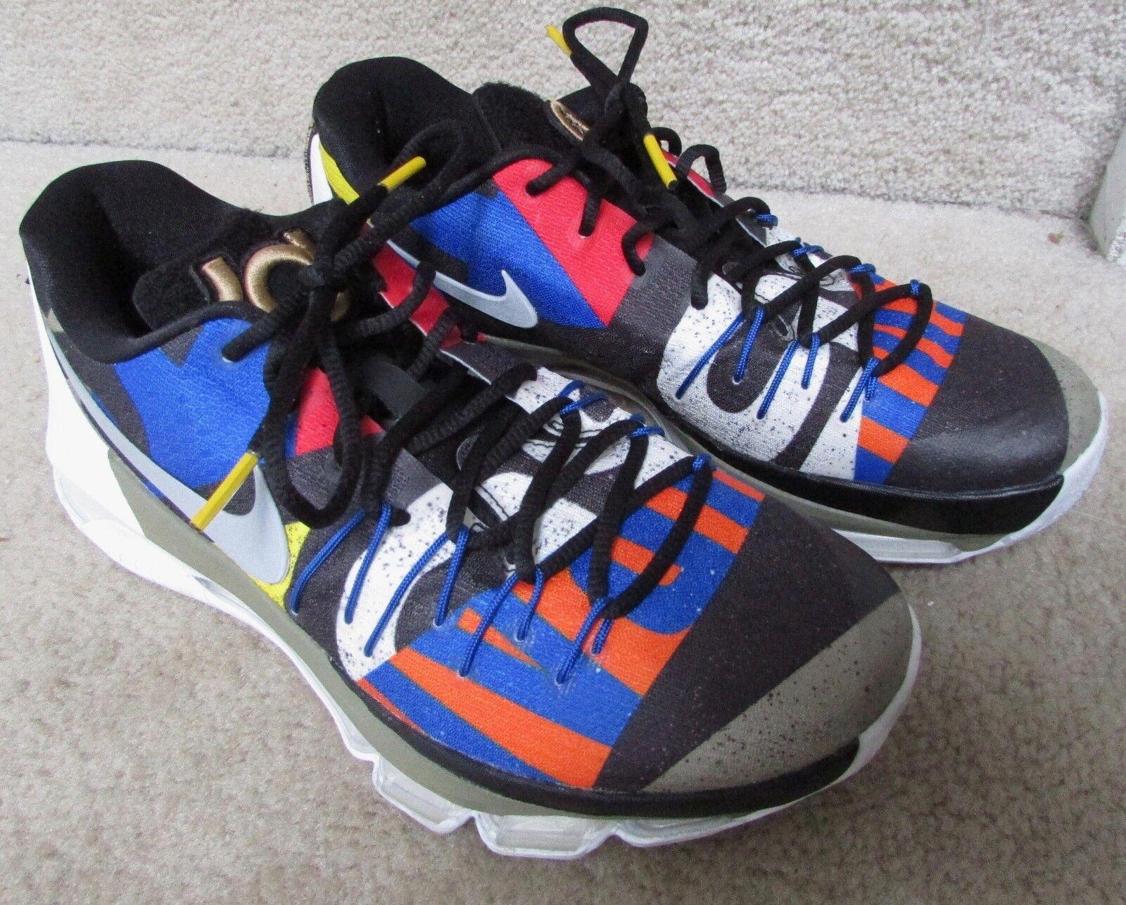 Nike kd 8 come stella reale 829207-100 durant scarpe da basket sz campioni