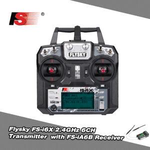 Flysky-FS-I6X-2-4G-6CH-AFHDS-2A-Remote-Transmitter-FS-IA6B-Receiver-RC-Drone