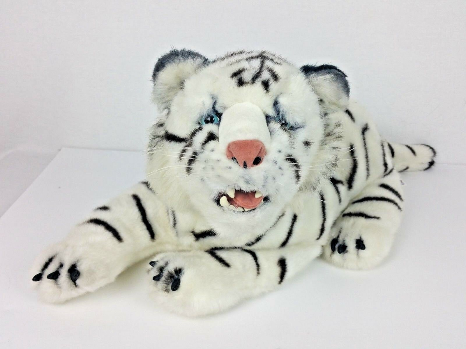 Discovery Channel XXL Large Plush Striped Animal Tiger Stuffed Realistic 2000