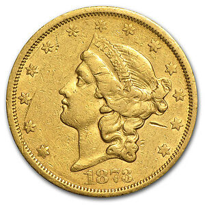 1866-1876-20-Liberty-Gold-Double-Eagle-Type-2-Cleaned-SKU-61870