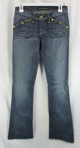 Rock-Republic-Kiss-Jeans-Denim-Womens-Size-0-25-Boot-Cut-Low-Rise-Sample-2008