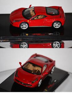 Hotwheels-Elite-Ferrari-458-Italia-2009-rouge-1-43-P9953