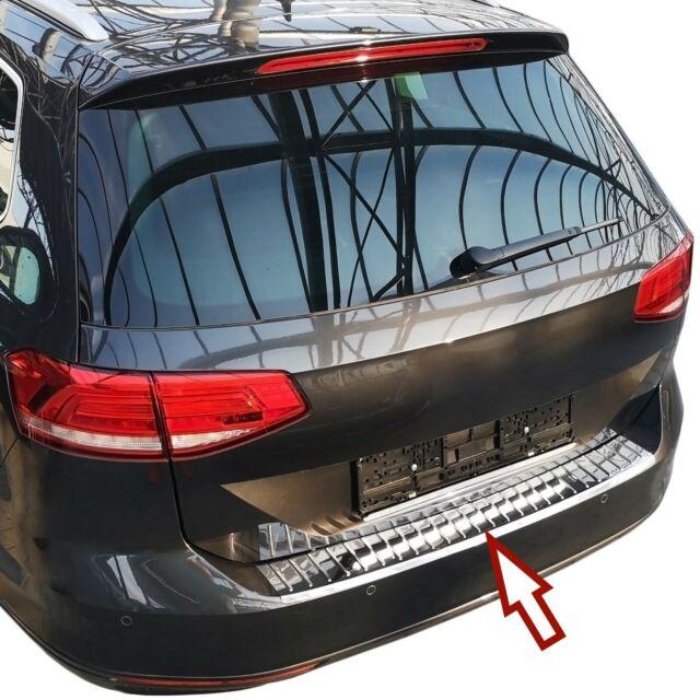 Ladekantenschutz passend für Hyundai i40 CW 2011-2018 Schwarz Edelstahl