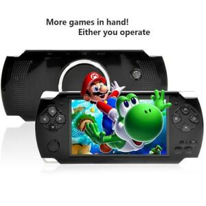 8GB Retro 1000 Games Handheld MP4 MP5 Video Player Game Console AV Out + Camera