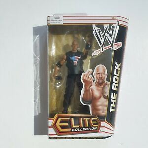 WWE-Elite-Collection-The-Rock-Mattel-Wrestling-Action-Figure-series-14-Boxed