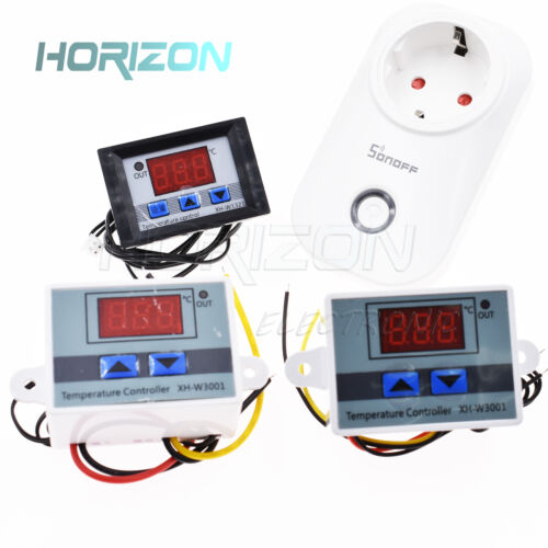12V/24V/220V Temperature Thermostat switch Temperature Controller DC Digital LED