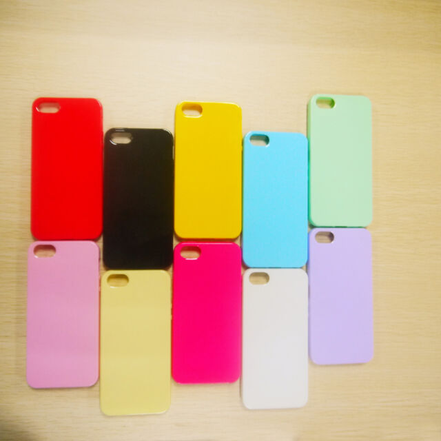 Fashion Silicone Cute Candy Colors Soft Gel TPU Thin Case Cover for iphone 5 5s
