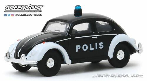 A.s.s nuevo GreenLight 1//64 VW volkswagen Classic Beetle escarabajo policía club V-Dub