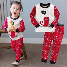 9e79fe408260 Carter s 3 Piece PJs Dog Rainbows Pajama Set 4t Blue Coral