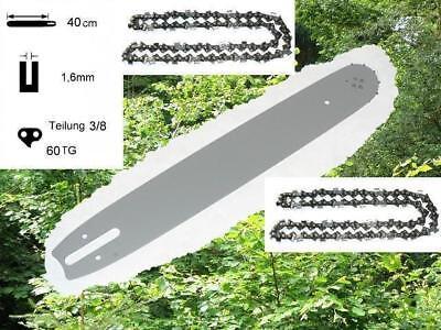 37cm Schwert 3//8 2 Ketten für Stihl 036 MS360 MS 360