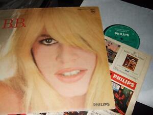 BRIGITTE BARDOT : B.B. ORIGINAL MONO LP 1964 PHILIPS 77984 FRANCE