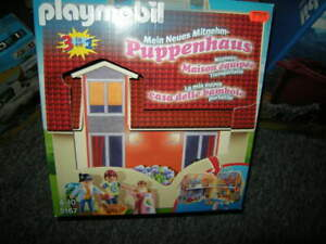 Playmobil-Puppenhaus-3-in-1-4-10-Jahre-Nr-5167-in-OVP