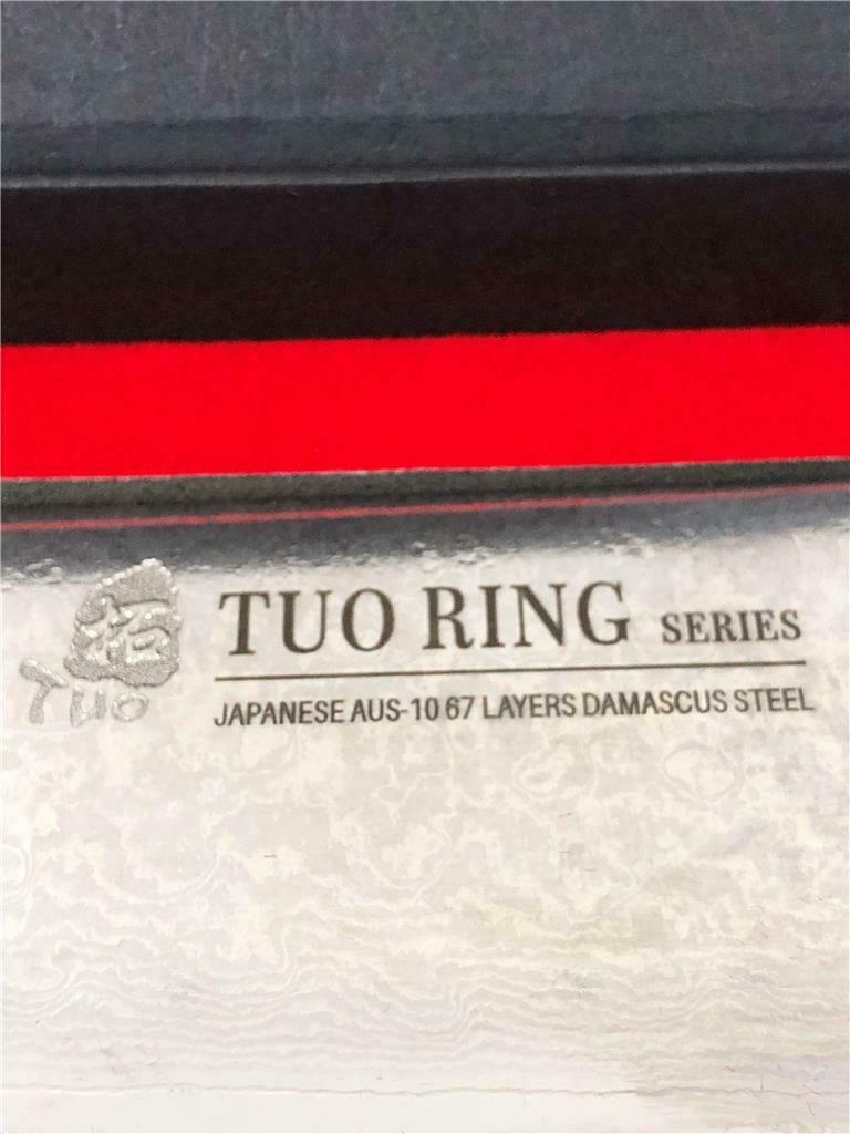 "TUO Cutlery Chef Knife Japanese AUS-10 HC Stainless Steel 9.5"" inches"