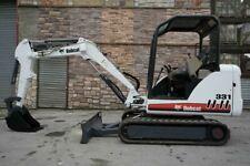 2008 Bobcat 331g Hydraulic Mini Excavator 1238 Hours Kubota Diesel Engine