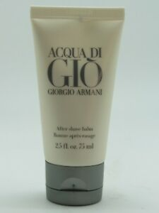 1063fbe60253 Acqua Di Gio By Giorgio Armani 2.5. 75ml After Shave Balm For Men ...