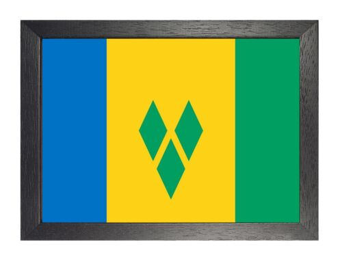 Flag Of Saint Vincent International Flags All Countries Poster Kingstown Picture