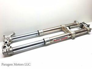 04-1-04-05-06-Suzuki-RMZ250-RMZ-250-Front-Forks-Fork-Clamp-Triple-Tree