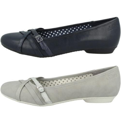 s.Oliver 5-22110-24 Schuhe Women Damen Ballerinas Freizeit Halbschuhe Slipper