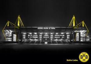 Stadionposter Poster Echte Liebe Borussia Dortmund Bvb Neu Ebay